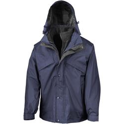 Textiel Heren Windjacken Result R68X Marineblauw