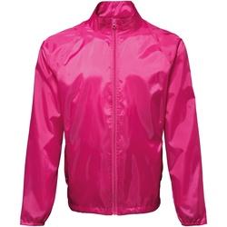 Textiel Heren Windjacken 2786 TS010 Heet Roze