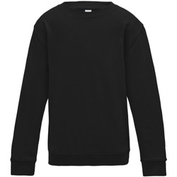 Textiel Kinderen Sweaters / Sweatshirts Awdis JH30J Jet Zwart