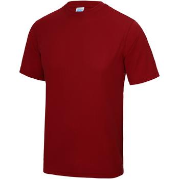 Textiel Kinderen T-shirts korte mouwen Just Cool JC01J Vuurrood