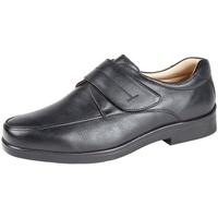 Schoenen Heren Derby Roamers Casual Zwart