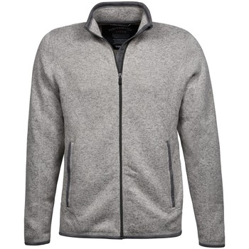 Textiel Heren Vesten / Cardigans Tee Jays Aspen Grijze Melange