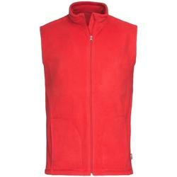 Textiel Heren Vesten / Cardigans Stedman Active Scharlakenrood