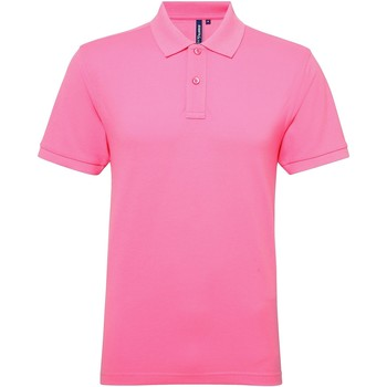 Textiel Heren Polo's korte mouwen Asquith & Fox Performance Neonroze