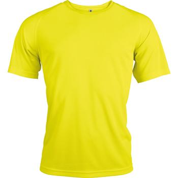 Textiel Heren T-shirts korte mouwen Kariban Proact Proact Fluorescerend Geel