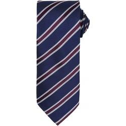 Textiel Heren Krawatte und Accessoires Premier PR783 Marine/Aubergine