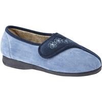 Schoenen Dames Sloffen Sleepers Embroidered Marine / Blauw