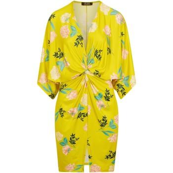 Textiel Dames Korte jurken Girls On Film  Veelkleurig Bloemen