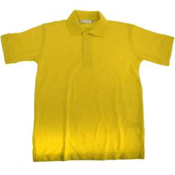 Textiel Jongens Polo's korte mouwen Kustom Kit KK406 Kanarie