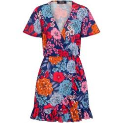 Textiel Dames Korte jurken Girls On Film  Blauw
