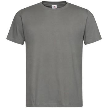 Textiel Heren T-shirts korte mouwen Stedman Classics Donkergrijs