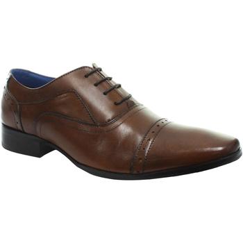 Schoenen Heren Klassiek Roamers Oxford Tan
