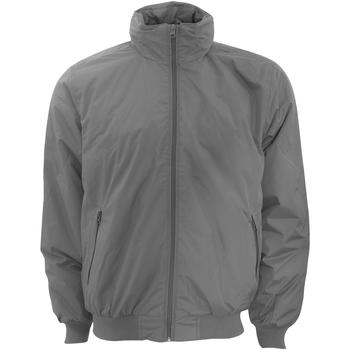 Textiel Heren Wind jackets B And C JM961 Donkergrijs / Warmgrijs