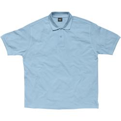 Textiel Dames Polo's korte mouwen Sg SG59F Hemelsblauw