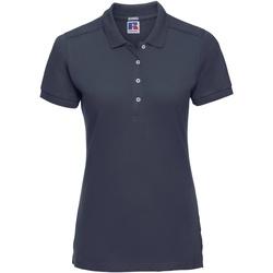 Textiel Dames Polo's korte mouwen Russell 566F Franse marine