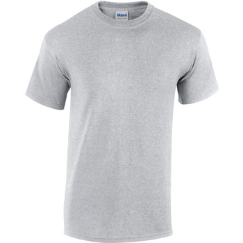 Textiel Heren T-shirts korte mouwen Gildan Heavy Sportgrijs