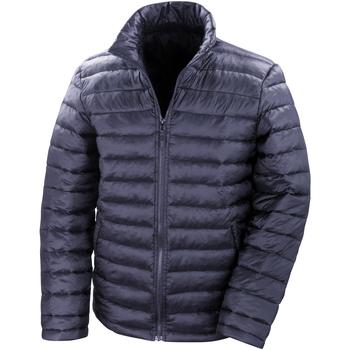 Textiel Heren Dons gevoerde jassen Result Windproof Marineblauw