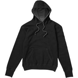 Textiel Heren Sweaters / Sweatshirts Sg Contrast Zwart/Grijs