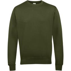 Textiel Heren Sweaters / Sweatshirts Awdis JH030 Olijfgroen