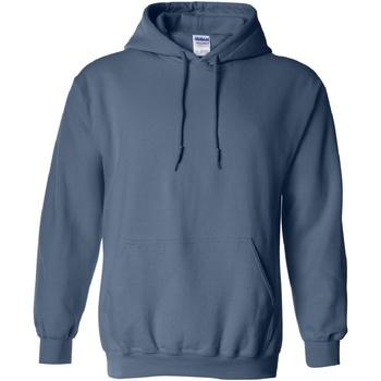 Textiel Sweaters / Sweatshirts Gildan Hooded Indigoblauw