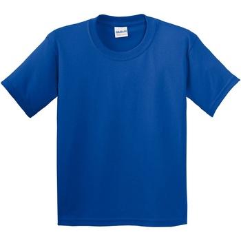 Textiel Kinderen T-shirts korte mouwen Gildan 5000B Koninklijk