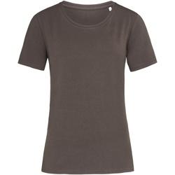 Textiel Dames T-shirts korte mouwen Stedman  Donkere chocolade bruin