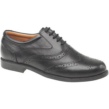 Schoenen Heren Klassiek Amblers Oxford Zwart