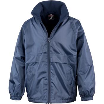 Textiel Kinderen Wind jackets Result DWL Marineblauw