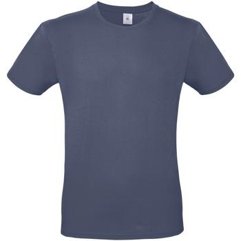 Textiel Heren T-shirts korte mouwen B And C TU01T Denim