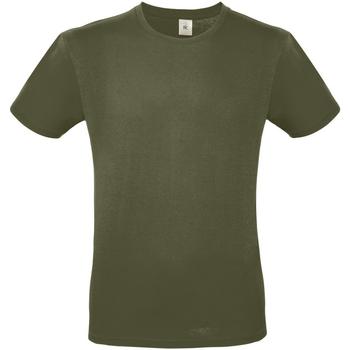 Textiel Heren T-shirts korte mouwen B And C E150 Stedelijke Khaki