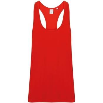 Textiel Heren Mouwloze tops Skinni Fit SF236 Helder rood