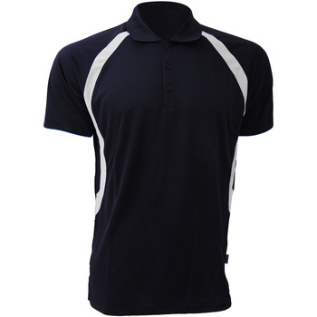 Textiel Heren Polo's korte mouwen Gamegear Riviera Marine / Wit