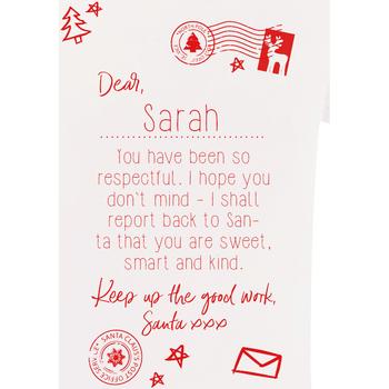 Textiel Kinderen T-shirts korte mouwen Christmas Shop Christmas Wit