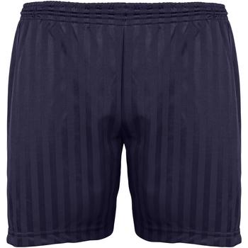 Textiel Kinderen Korte broeken / Bermuda's Maddins Stripe Marine