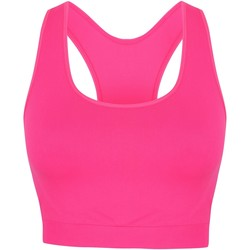 Textiel Dames Sport BHs Skinni Fit Cropped Neonroze