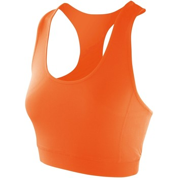 Textiel Dames Sport BHs Spiro Stretch Mandarijn