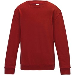 Textiel Kinderen Sweaters / Sweatshirts Awdis JH30J Vuurrood