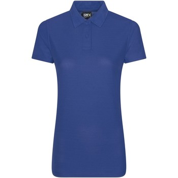 Textiel Dames Polo's korte mouwen Pro Rtx RX05F Koningsblauw