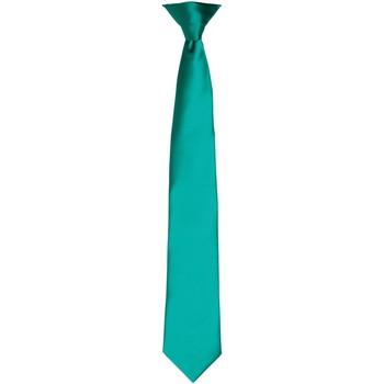 Textiel Heren Krawatte und Accessoires Premier PR755 Smaragd