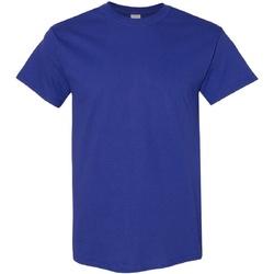 Textiel Heren T-shirts korte mouwen Gildan Heavy Kobaltblauw