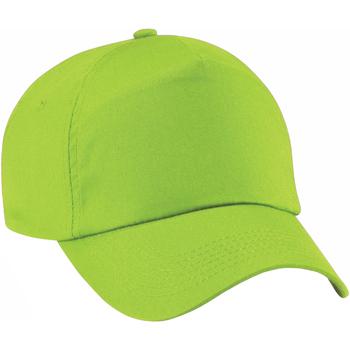 Accessoires Pet Beechfield Baseball Kalk groen