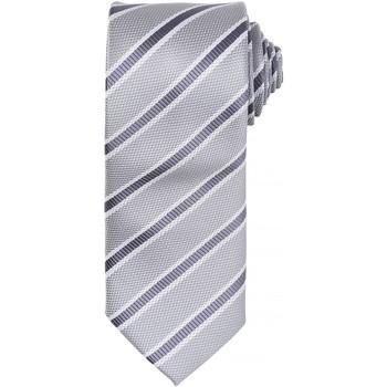 Textiel Heren Krawatte und Accessoires Premier  Zilver/Donkergrijs