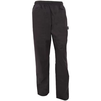 Textiel Losse broeken / Harembroeken Dennys DC18B Zwart