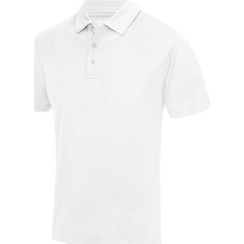 Textiel Heren Polo's korte mouwen Just Cool JC040 Arctisch Wit