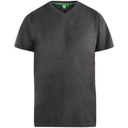 Textiel Heren T-shirts korte mouwen Duke Signature Houtskoolmelange