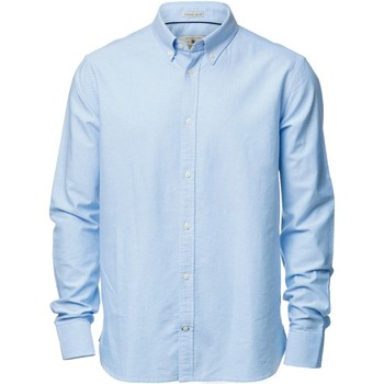 Textiel Heren Overhemden lange mouwen Nimbus Formal Lichtblauw