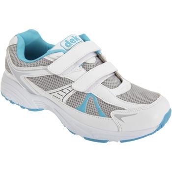 Schoenen Dames Lage sneakers Dek Moon Wit/blauw