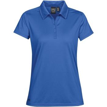 Textiel Dames Polo's korte mouwen Stormtech Pique Azuurblauw