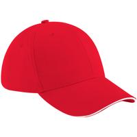 Accessoires Pet Beechfield Baseball Klassiek rood/wit