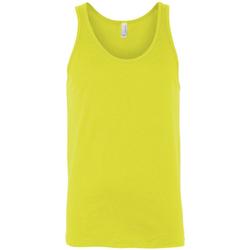 Textiel Dames Mouwloze tops Bella + Canvas Jersey Neon geel